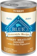 Blue Buffalo Adult Dog Turkey Meatloaf 12.5oz