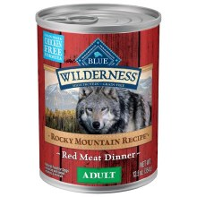 Blue Wildernes Adult Dog Rocky Mountain Red Meat 12.5oz