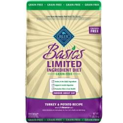 Blue Basics Adult Cat Grain-Free Turkey and Potato 11lb