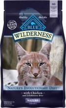 Blue Wilderness Mature Cat Chicken 5lb
