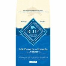 Blue Buffalo Adult Dog Chicken and Rice 15lb