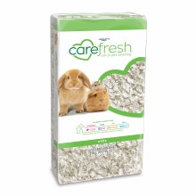 Carefresh Natural Small Pet Bedding in White 10 Liter