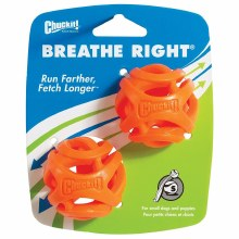Chuckit! Breath Right Fetch Ball  2 Pack Small