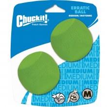 Chuckit! Erratic Ball Medium 2 pack