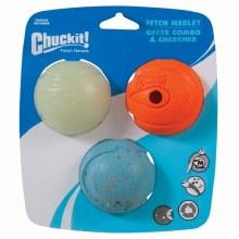 Chuckit! Fetch Medley Medium 3 pack