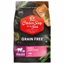 Chicken Soup for the Soul Cat All Life Stages Salmon and Legumes 4lb