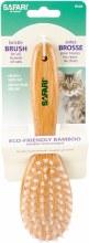 Coastal Safari Bristle Cat Brush with Bamboo Handle