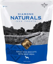 Diamond Naturals Adult Dog Biscuits with Beef Meal 16oz