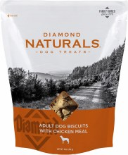 Diamond Naturals Adult Dog Biscuits with Chicken Meal 16oz