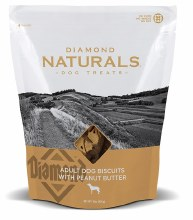 Diamond Naturals Adult Dog Biscuits with Peanut Butter 16oz