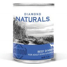 Diamond Naturals Adult and Puppy Beef Dinner 13.2oz