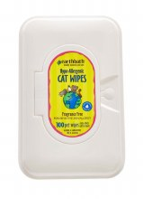 Earthbath for Cats and Kittens Hypo-Allergenic Cat Wipes 100ct