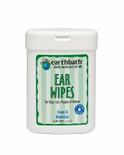 Earthbath Ear Wipes for Pets 25ct