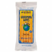 Earthbath Grooming Wipes for Pets in Mango Tango 28ct