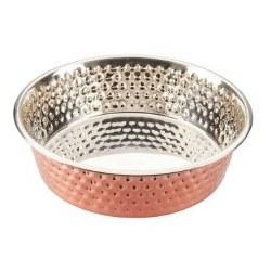SPOT Honeycomb Non-Skid SS Copper Bowl 2qt