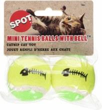 SPOT Cat Tennis Ball with Catnip 2 Pack