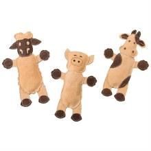 "SPOT Dura-Fused Leather Barnyard Animals 11"""