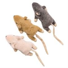 "SPOT Cat Flat Mouse Frankie with Catnip 5"""