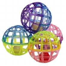 SPOT Cat Lattice Balls with Bell 4 Pack