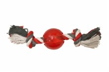 """SPOT Play Strong Ball 3.25"""" with Rope"""