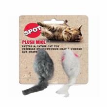 SPOT Cat Plush Mice 2 Pack