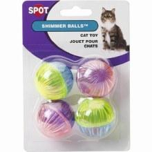 SPOT Cat Shimmer Balls 4 Pack