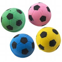 Spot Cat Sponge Soccer Balls 4 Pack