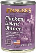 Evanger's Cat Chicken Lickin' Dinner Pate 12.8oz