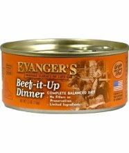 Evanger's Cat Beef It Up Dinner Pate 5.5oz