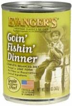 Evanger's Cat Goin' Fishin' Dinner Pate 12.8oz