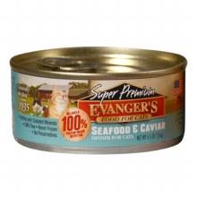 Evanger's Cat Seafood Caviar Dinner 5.5oz