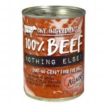 Against The Grain Dog 100% Beef Nothing Else! 11oz