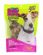 Fido Naturals Belly Bone Dental Treats Yogurt Flavor Small 13 Pack