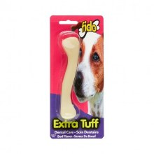 Fido Extra-Tuff Dental Care Chew Toy Beef Flavor Mid-Size