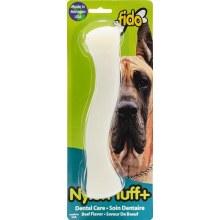 Fido Nylon Tuff Plus Dental Care Chew Toy Beef Flavor Large