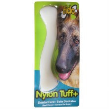 Fido Nylon Tuff Plus Dental Care Chew Toy Beef Flavor Medium