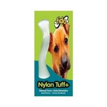 Fido Nylon Tuff Plus Dental Care Chew Toy Beef Flavor Small