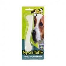 Fido Nylon Tuff Plus Dental Care Chew Toy Beef Flavor Mid-Size