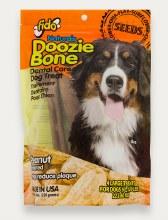 Fido Naturals Doozie Bone Dental Treats Peanut Flavor Large 4 Pack