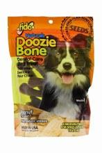 Fido Naturals Doozie Bone Dental Treats Peanut Flavor Medium 8 Pack