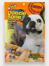 Fido Naturals Doozie Bone Dental Treats Peanut Flavor Small 13 Pack