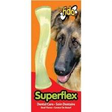 Fido Superflex Dental Care Chew Toy Beef Medium