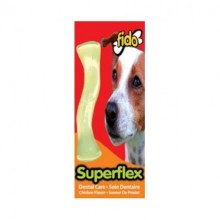 Fido Superflex Dental Care Chew Toy Chicken Mid-Size