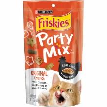 Friskies Party Mix Original Crunch Adult Cat Treats 2.1oz