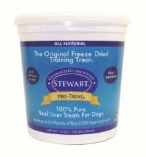 Stewart Pro-Treat Beef Liver 14oz