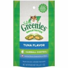 Feline Greenies Smartbites Hairball Control Treats Tuna Flavor 2.1oz
