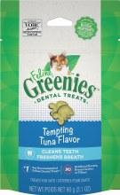 Feline Greenies Dental Treats Tempting Tuna Flavor 2.1oz