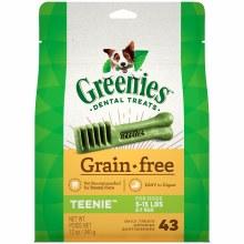 Greenies Grain Free Teenie Dog Dental Treats 43 Pack