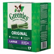 Greenies Original Large Dog Dental Treats 17 Pack