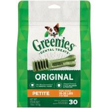 Greenies Original Petite Dog Dental Treat 30 Pack
